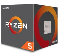 AMD Ryzen 5 2600X 4.25GHz AM4 процесор с Wraith Spire охладител