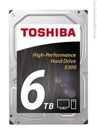 Toshiba X300 - High-Performance 6TB HDWE160UZSVA (7200rpm, 128MB) Твърд диск