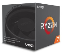 AMD Ryzen 7 2700X 4.35GHz AM4 процесор с Wraith Prism охладител