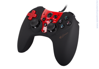 Геймпад Natec Genesis Gamepad P44 LIMITED EDITION (for PS/PC) System requirements: Windows XP/Vista/7/8/10