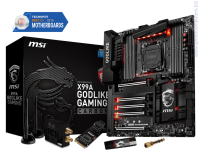MSI X99A GODLIKE GAMING CARBON 2011-V3 Дънна платка