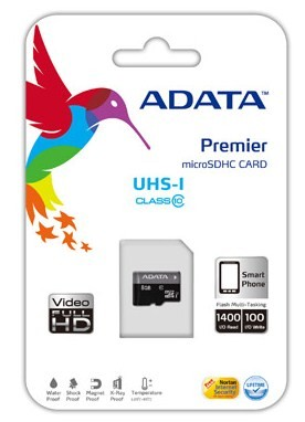 Карта памет A-DATA Premier 16GB microSDHC/SDXC UHS-I U1 Class 10 