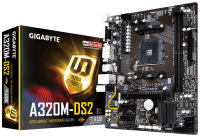GIGABYTE A320-DS2 AM4 Ryzen Дънна платка