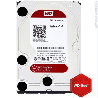 "Твърд диск Western Digital Red PRO 3TB SATAIII 3.5"" 64MB NAS HDD 3TB SATAIII WD Red PRO 64MB for NAS (5 years warranty)"