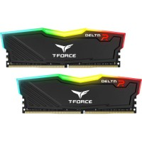 Памет Team Group Delta RGB Black DDR4 - 16GB 2400MHz