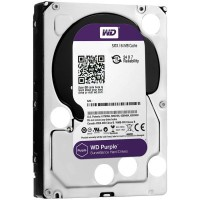 Western Digital Purple 6TB SATAIII 5400rpm 64MB Твърд диск за DVR/Наблюдение