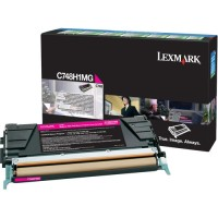 Lexmark C748 Magenta High Yield Return Program Toner Cartridge