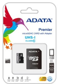 Карта памет A-DATA Premier 64GB microSDHC/SDXC UHS-I U1 Adapter Class 10