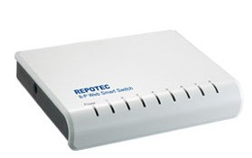Repotec SWITCH RP-1008W 8P 10/100 WEB  
