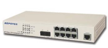 REPOTEC SWITCH RP-1708FC/8P 100MB+1 FX  Type : 
