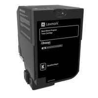 Lexmark Black Return Programme Toner Cartridge консуматив