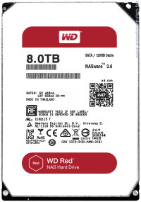 Твърд диск Western Digital RED 8TB 128MB 3.5 SATA3
