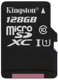 Карта памет KINGSTON 128GB micro SD Class 10
