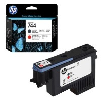 HP 744 Matte Black & Red Printhead консуматив