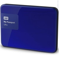Western Digital My Passport Ultra 3000GB USB 3.0 Син Външен твърд диск