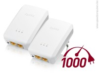 ZyXEL  PLA5206 Twin Pack 1000 Mbps адаптер