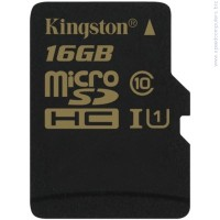 KINGSTON 16GB microSDHC Class 10 UHS-I 90MB read карта памет