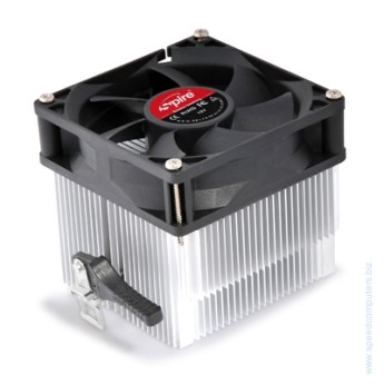 Вентилатор за процесор SPIRE SP854S3  AM2/AM3 сокет  за АМД процесори Dimensions Heat sink : 81x76.8x48 mm (l x w x h) 