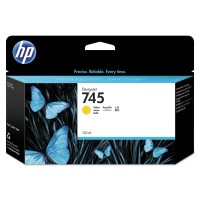 HP 745 Ink Cartridge Yellow 130 ml консуматив